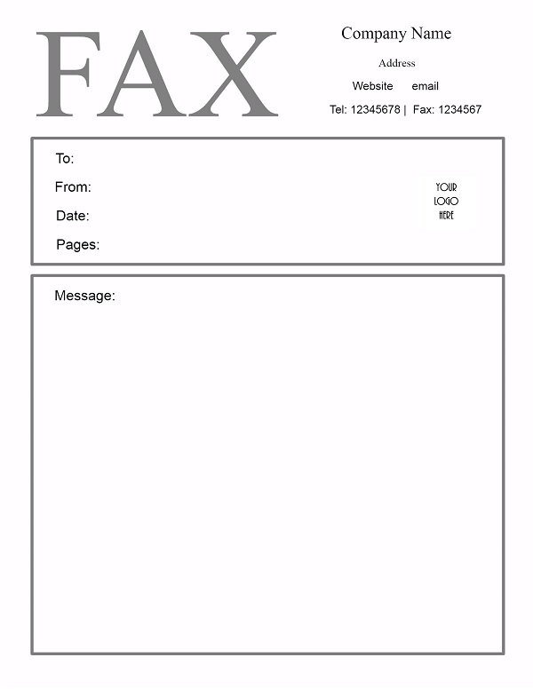 13 fax cover sheet