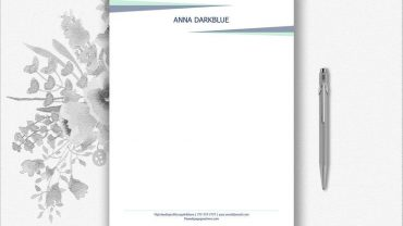 Personal Letterhead Samples
