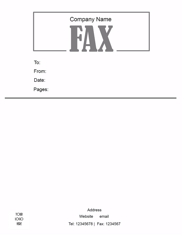 21 free fax cover sheet