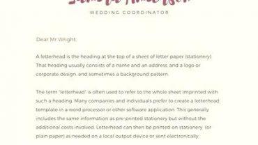 71. personal letterhead design 1