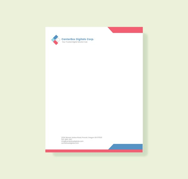 company letterhead template word 2007