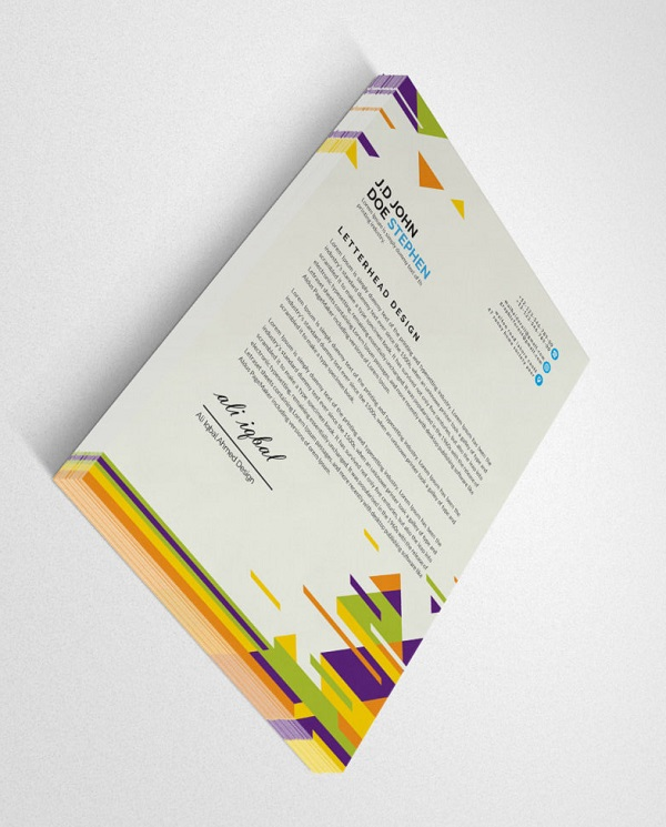 Creative Letterheads samples