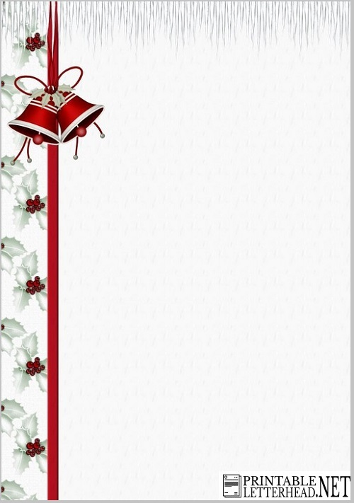 Holiday Letterhead Template