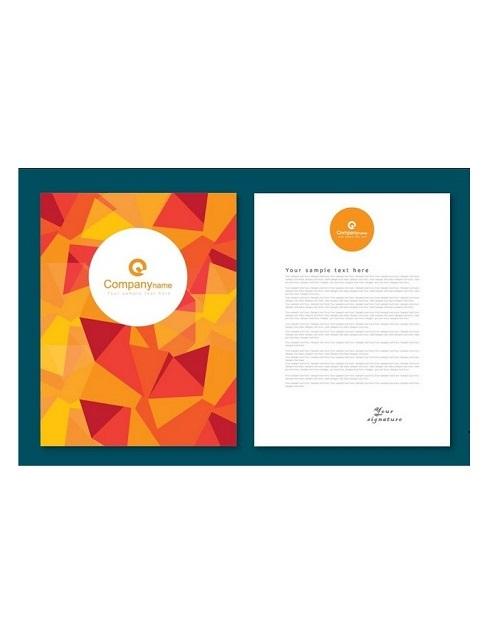 Printable Letterhead Template Illustrator