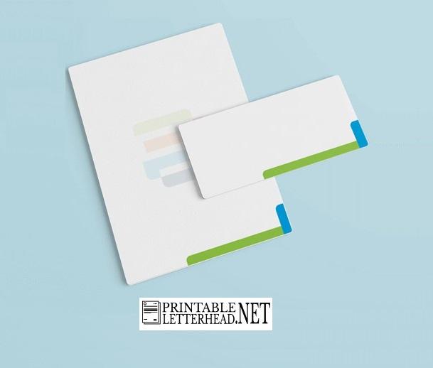 Letterhead envelope examples