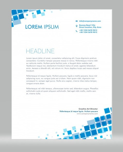 Unique Letterhead 01