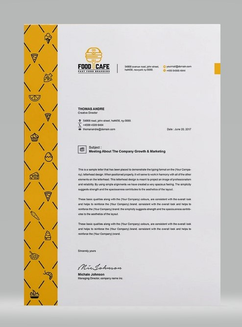Unique Letterhead 02