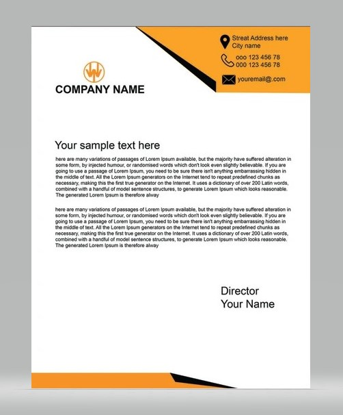 Unique Letterhead 03