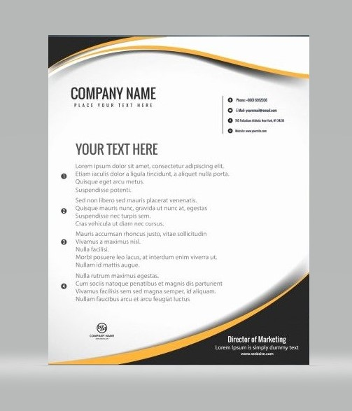 Unique Letterhead 05