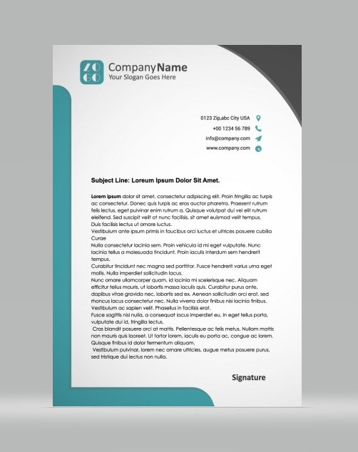 Unique Letterhead 06