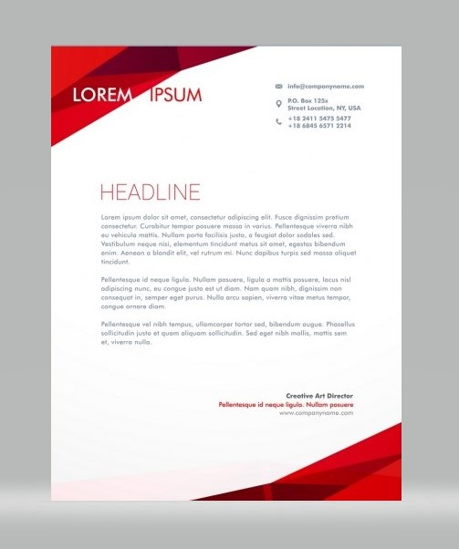 Unique Letterhead 07