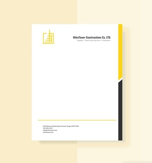fancy letterhead